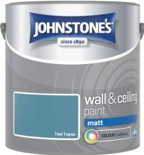 Johnstones Teal Topaz Coloured Emulsion